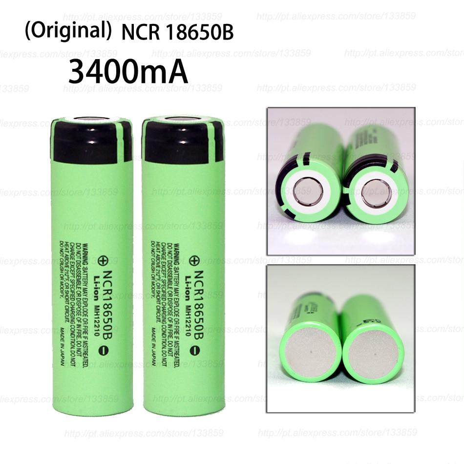 2pcs-new-original-ncr18650b-3400mah-18650-power-bank-battery-37v-li-ion-rechargeable-battery-for-panasonic-free-shopping