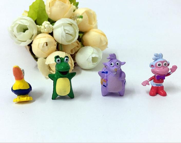 Kids Toys Action-Figures Animal-Model Birthday-Gift Home-Decoration Cartoon 30pcs/Lot