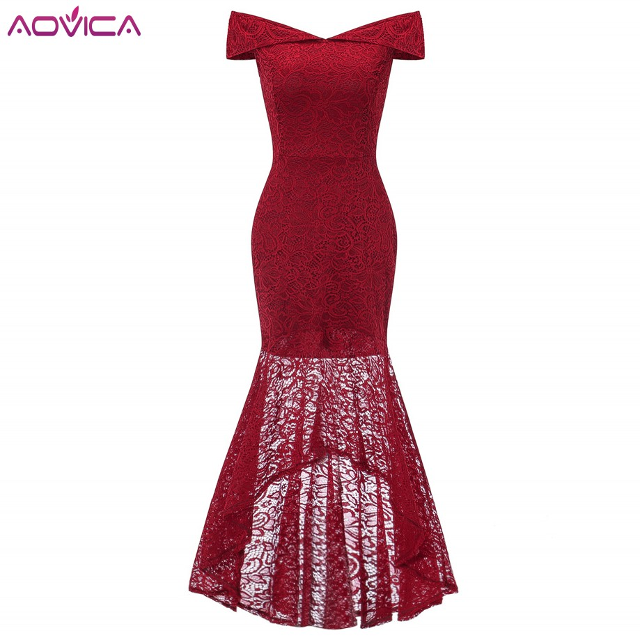 kaifongfu Women Dresses Solid Color Cocktail Party Evening Maxi Dress Party Night Dress for Summer