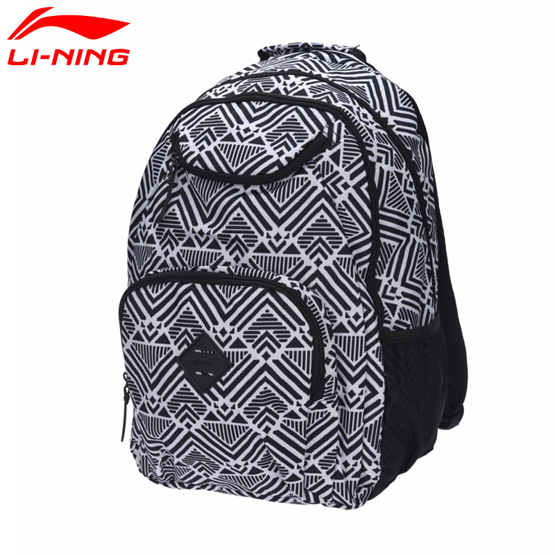 Li-Ning Unisex Urban Sport Backpack Polyester Classic City Jogging Bag LiNing Sports Bag ABSM138 BBF232Li-Ning Unisex Urban Sport Backpack Polyester Classic City Jogging Bag LiNing Sports Bag ABSM138 BBF232