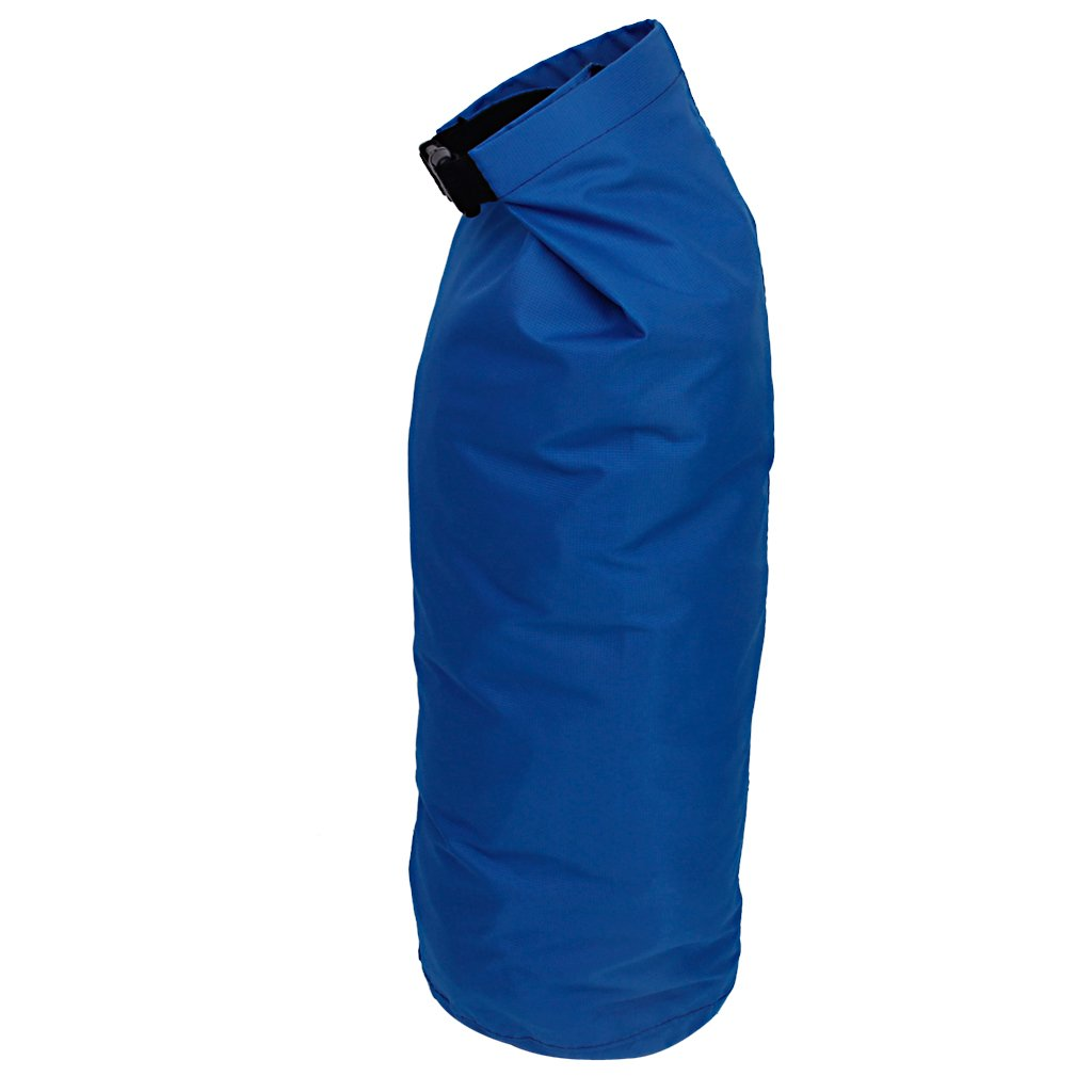5 pcs of Waterproof Dry Sack Lightweight Compression Bag for Boating Kayaking Rafting Canoeing 8L Blue