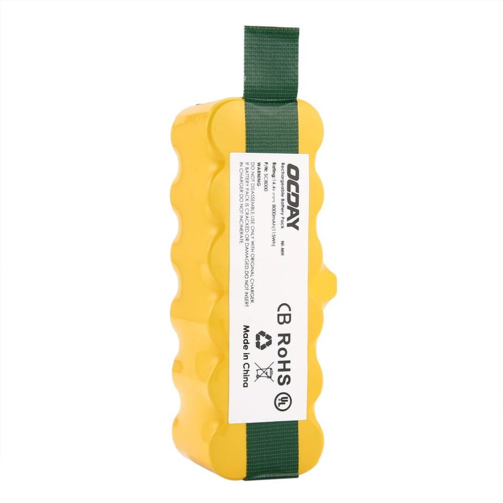14 4V 8000mAh Ni-MH Rechargeable Battery for Irobot Roomba 500 510 530 531  535 540 545 550 560 562 570 580 581 600 780