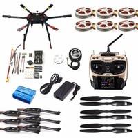 Полный набор квадрокоптера Дрон с GPS самолет комплект Таро X6 6 осевой TL6X001 PX4 32 бита игровые джойстики Radiolink AT9S TX/RX F11283 C