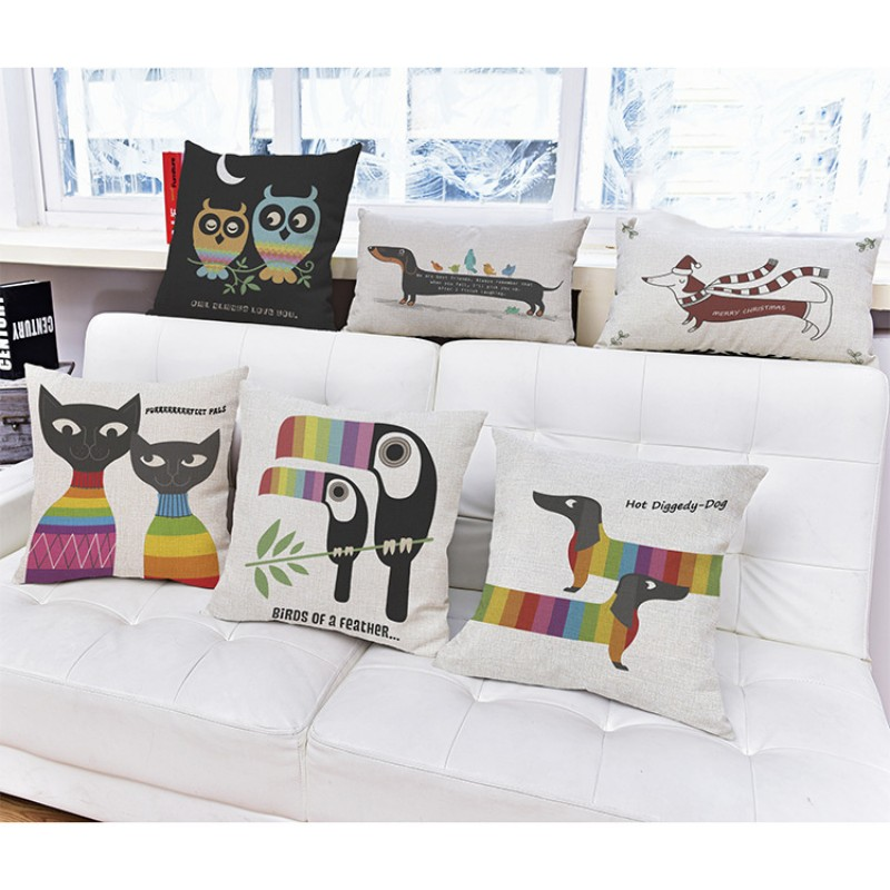 popular dachshund decoration pillows-buy cheap dachshund