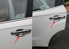 for FAW BESTURN X40 2017 door handle cover chrome silver decorate