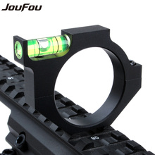 JouFou Tactical Aluminum Alloy Scope Bubble Level Fit for 30mm Laser Sight Tube for Rifle Hunting Free Shipping