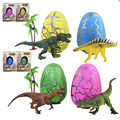 4 color  Magic Hatching Dinosaur Egg Growing Toys Easter Egg Hatching Easter Egg Puzzle Toy Children Kid Funny Toys Gift T215