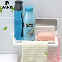 Display Shelf Rack Bathroom Corner Shower Shelf Plastic Stand Kitchen Dryer Bathroom Acessories Shelving