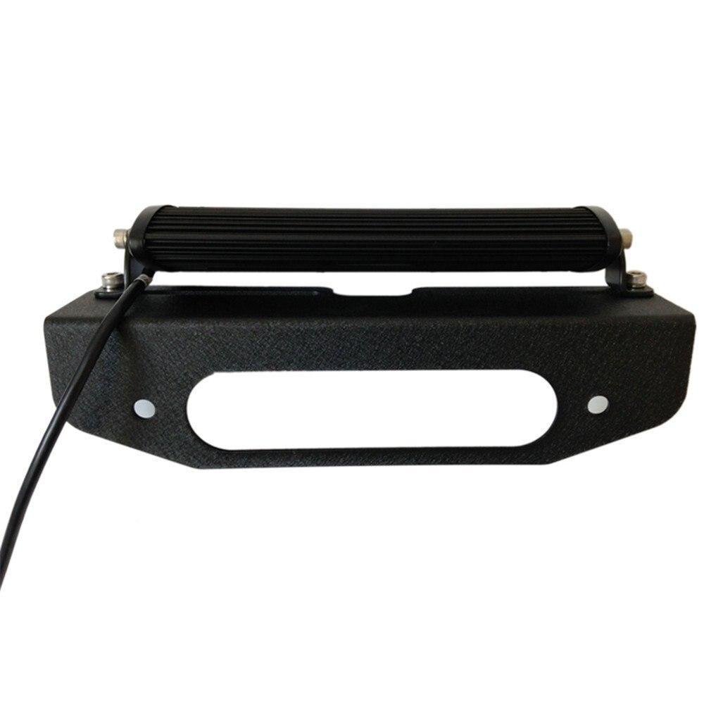 BESTSXMA Сталь Черный Авто лебедки высший свет кронштейны свет бар монтажа (один комплект)