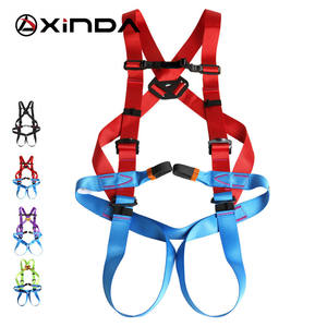 XINDA Professional Outdoor Rock Climbing Harness High Altitude Full Body Safety Belt for Mountaineering Survival Kit Equipment