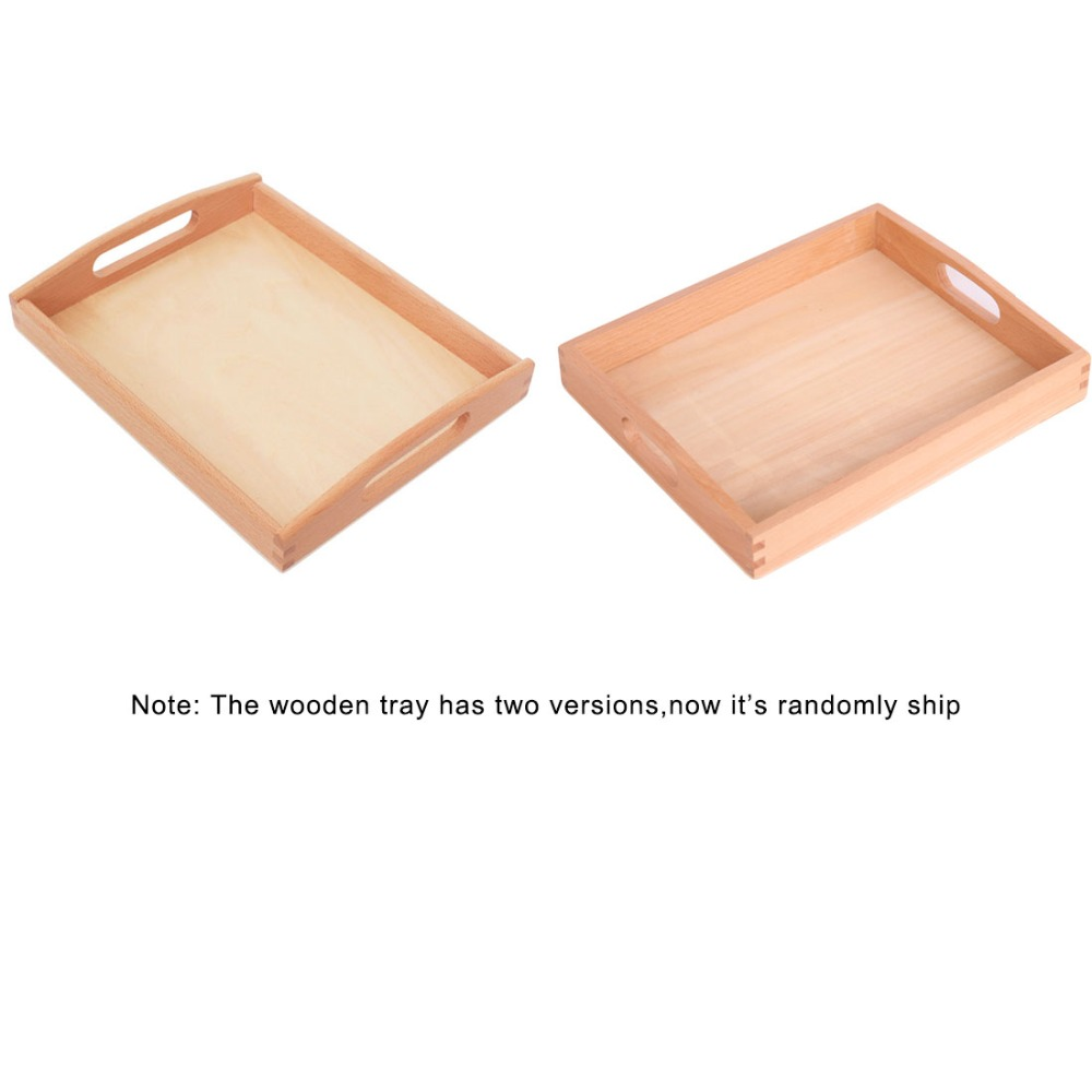 Objective Wooden Montessori Tray Locks Set Educational Toys For Children Montessori Preschool Sensorial Materials Juguetes Ml1344h Home