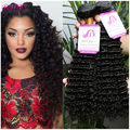 8a Brazilian Virgin Hair With Closure Wet And Wavy Human Hair Weave 4 Bundles With Closure Brazilian Deep Wave With Closure