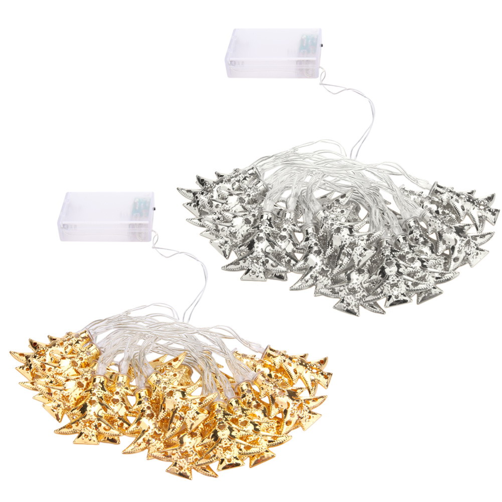 AA Battery Operated 2M 20LEDS Christmas Tree String Fairy Lights Wedding Christmas Holiday Party Decoration DIY NG4S