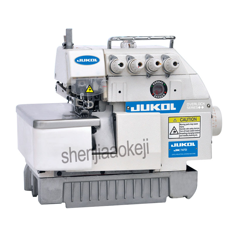 1PC Super High Speed Overlock Sewing Machine,direct Drive Sewing Machine 3/4/5line Overedge Sewing Machine
