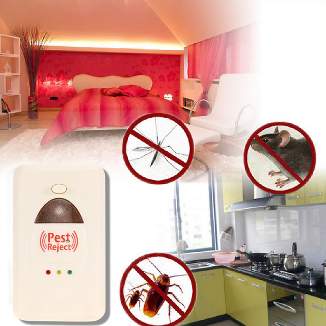 Pest Reject Eletromagnetic Ultrasound Rat Mouse Repellent Anti Mosquito Repeller Killer Repel Device Irritate Rats Spiders