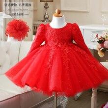 Детская платье принцессы платья БАЛЕТНОЙ ПАЧКИ платья девушки зимой