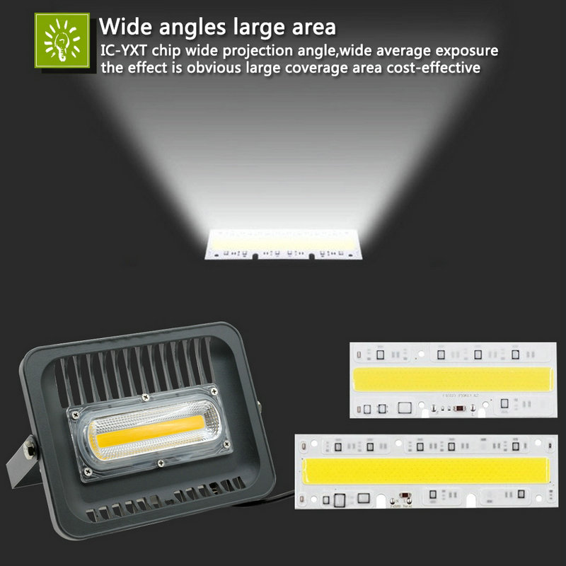 led floodlight 30w 50w 100w outdoor lighting 220v waterproof led