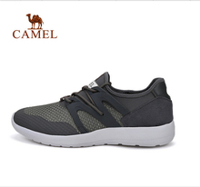 Camel outdoor men's cross country running shoes spring and summer lace comfortable breathable sneakers A632246045