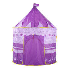 Purple Tent Shop owner recommended  Outdoor Toy   Folding Children Kids Playhouse Princess Tent Tunnel In/Outdoor for Boys Girls
