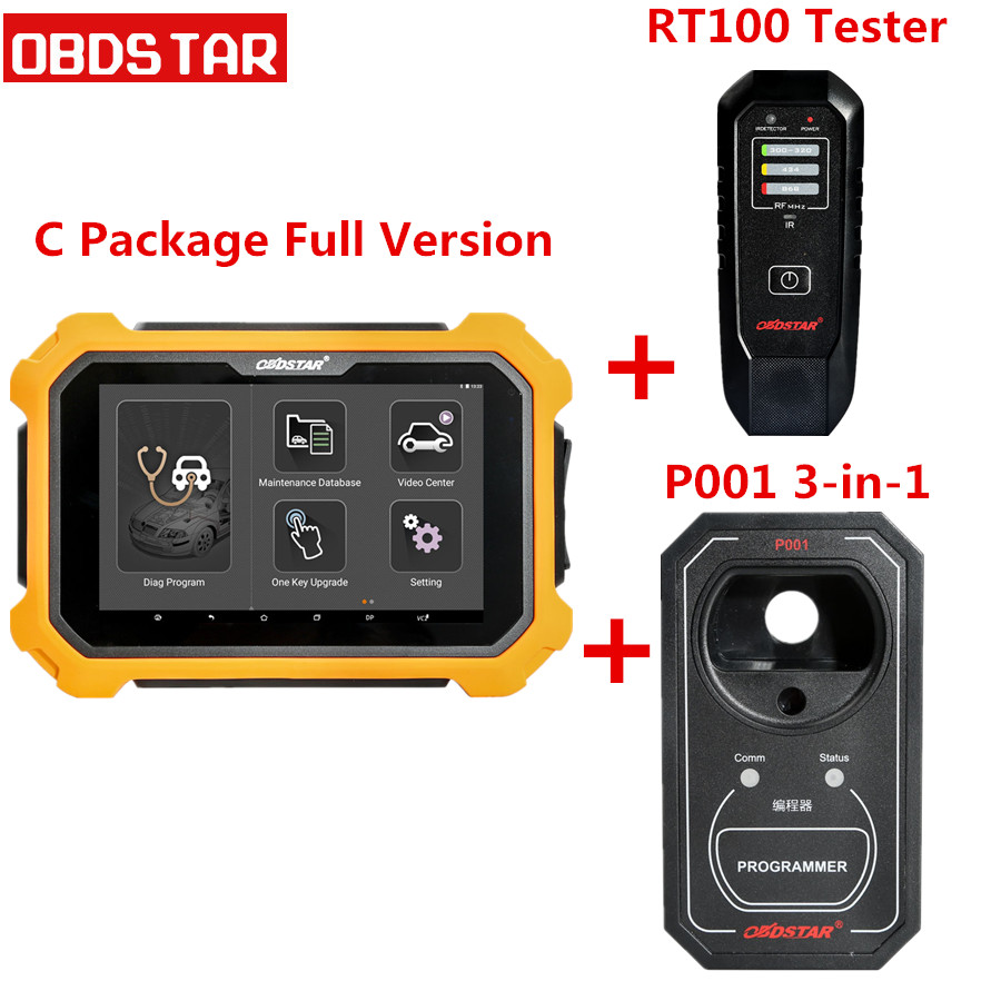 Obdstar X300 Dp Plus Pad2 C Package Full Version Support Ecu Wiring Diagram Programming And For Toyota