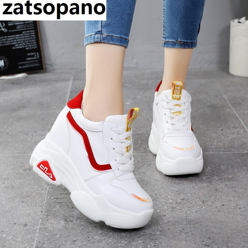 New Casual High Platform Shoes Women Breathable Height Increasing Shoes 10CM Thick Sole Trainers Sneakers Woman Deportivas MujerNew Casual High Platform Shoes Women Breathable Height Increasing Shoes 10CM Thick Sole Trainers Sneakers Woman Deportivas Mujer