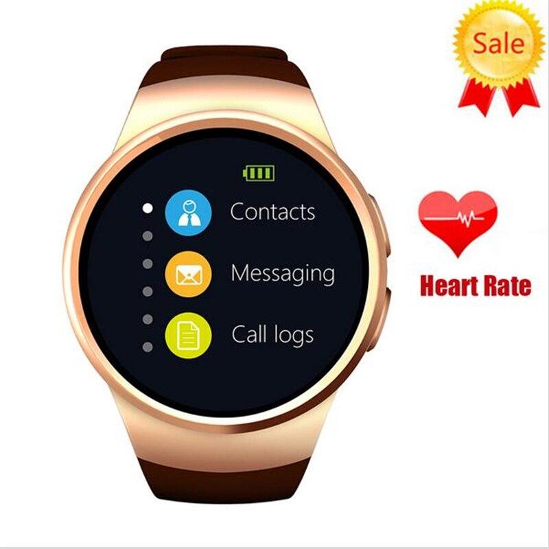 Kingwear Smart Watch KW18 SIM TF Smartwatch OGS Capacitive Screen Smart Wristwatch Bluetooth Facebook for apple gear s2 huawei
