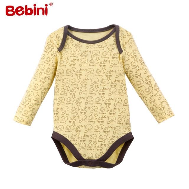 Baby Girls Boys Clothing High Quality Collar Long Sleeves baby bodysuits Cheap Unisex Newborn Clothes