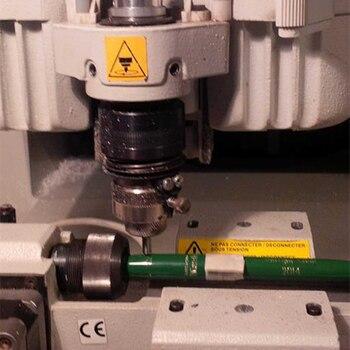 2pcs/lot 6mm Dia 60 Degree Diamond Drag Engraving Bits Steel Chrome Titanium Diamond Engraving Tool