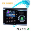 High speed TCP/IP fingerprint time attendance time recorder linux system 3 inch color screen ZK time attendance iclock360