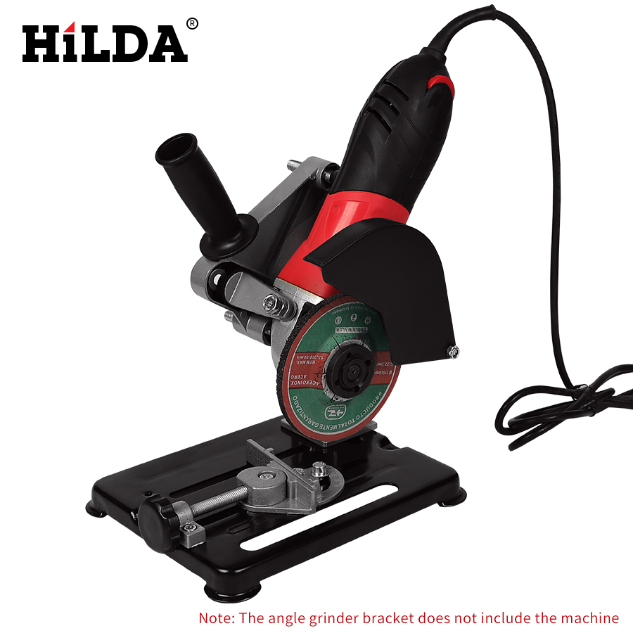 HILDA Universal Grinder Accessories Angle Grinder Holder Woodworking Tool DIY Cut Stand Grinder Support Dremel Power Tools