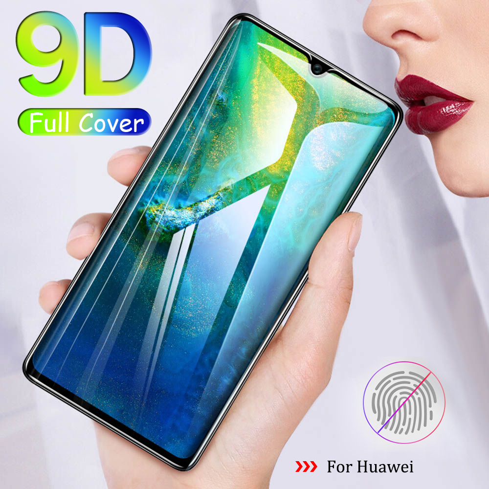 9D Protective Glass Full Glue For Huewei P10 P20 P Smart Plus Mast 20 Lite Pro 2019 Tempered Glass Film Cover Screen Protector(China)