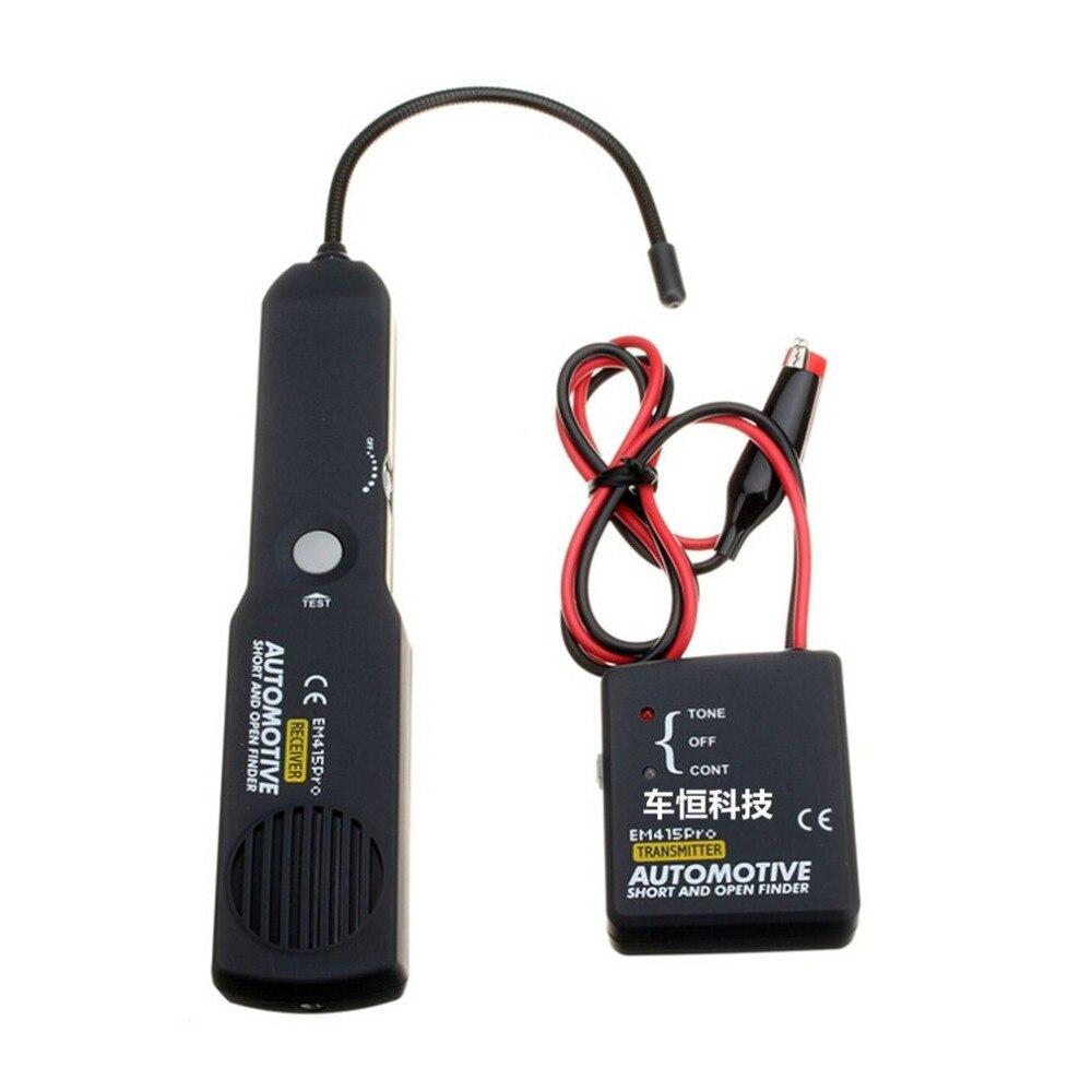 D'origine Universal EM415pro Automobile Câble Fil Court Ouvert Numérique Finder Voiture Tester Tracer Diagnostiquer Tone Ligne Finder Outils