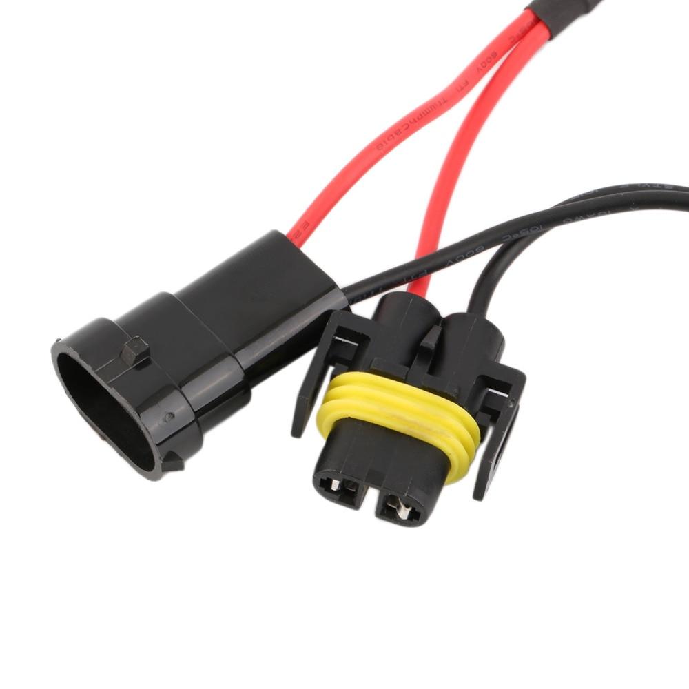 medium resolution of new h11 50w 6 ohm led drl fog light load resistor wiring harness dc 12 24v