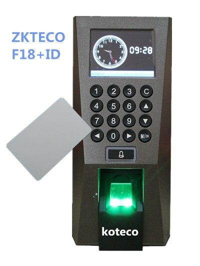 fingerprint and 125khz RFID card access control and time attendance F18 fingerprint door access control with TCP/IP USBfingerprint and 125khz RFID card access control and time attendance F18 fingerprint door access control with TCP/IP USB
