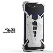 Funda de Metal con anillo de superhéroe Spider Man para Huawei Honor V20 V10 V9 Play Honor 10 Lite 9i 9 8 8x 7x 7c 7a Magic 2