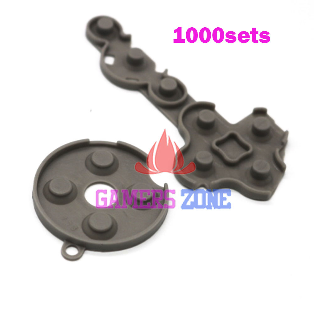 1000sets For Xbox 360 Controller Rubber Conductive Contact Button D Pad Pads Repair Fix