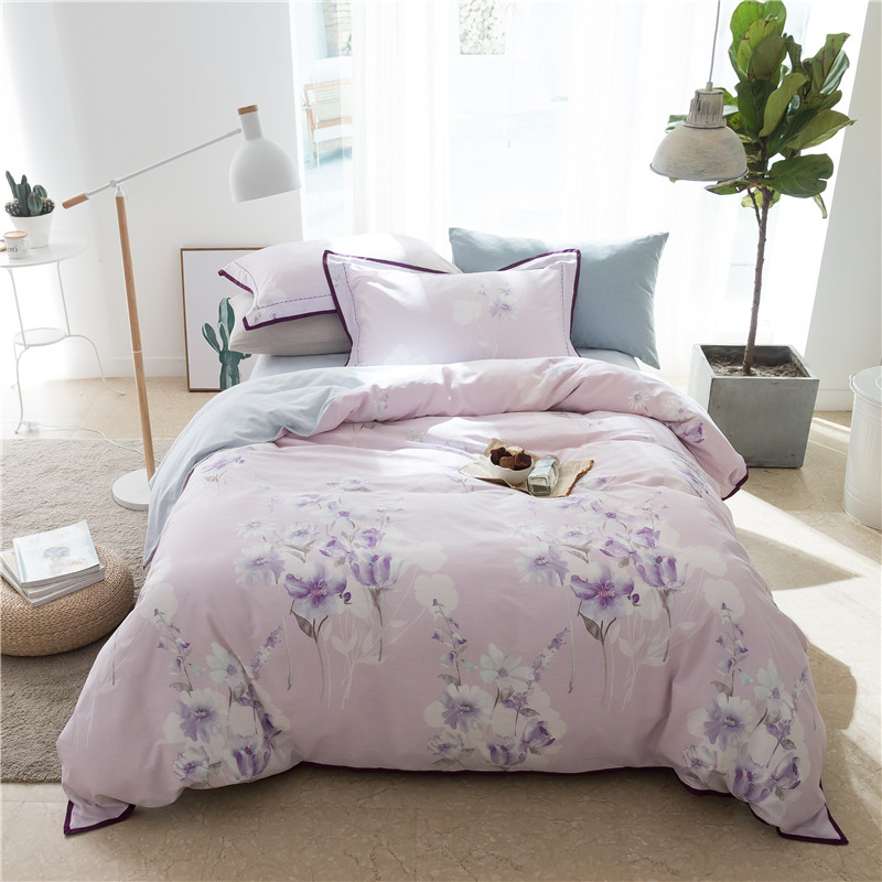 IvaRose New Pastoral style Tencel cotton Luxury Bedding Set print Bed Set King Queen Bed Linens flower Duvet Cover Bed Sheet 28IvaRose New Pastoral style Tencel cotton Luxury Bedding Set print Bed Set King Queen Bed Linens flower Duvet Cover Bed Sheet 28