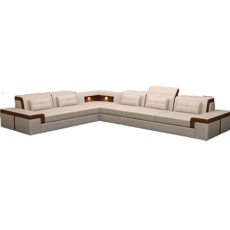 US $1566.0 |New design sofa L shape sofa sets with led light in Living Room  Sofas-in Living Room Sofas from Furniture on Aliexpress.com | Alibaba ...