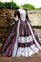 Gothic Marie Antoinette Gothic Victorian Ball Gown Dress