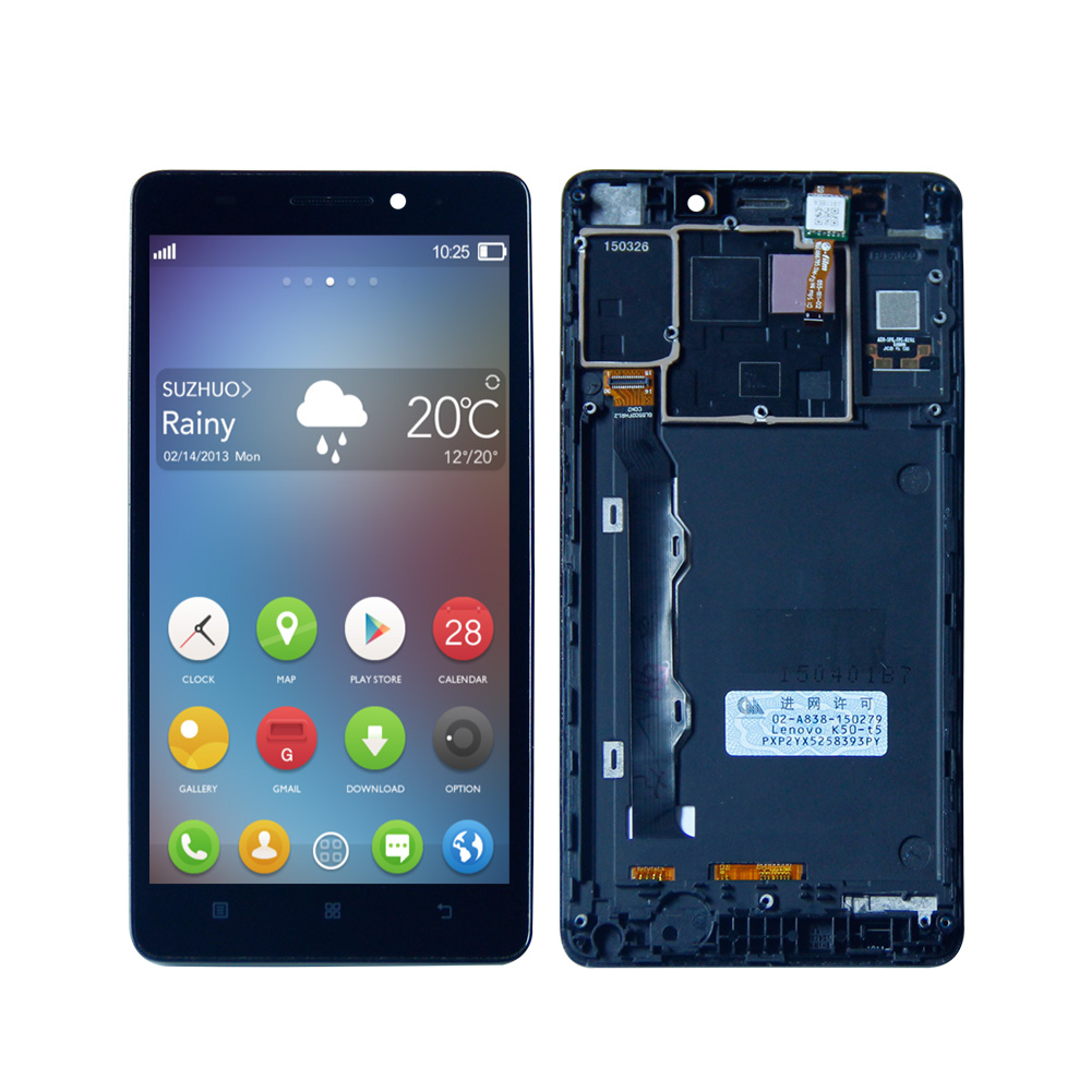 5.5 inch For Lenovo K3 Note K50-T5 K50-T3S LCD Display touch Screen Digitizer glass sensor Assembly Free Tools 5.5 inch For Lenovo K3 Note K50-T5 K50-T3S LCD Display touch Screen Digitizer glass sensor Assembly Free Tools