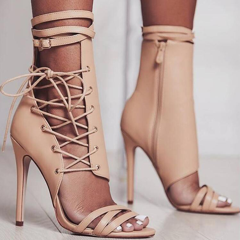 Gladiator High Heels Summer Women Pumps party