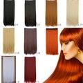 1 шт. парики 60 см для женщины мода Style120g синтетический волосы аккуратно мода прямо наращивание волос высокотемпературная провода