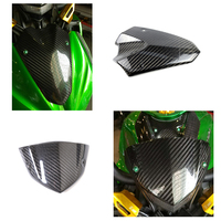 For KAWASAKI Z1000 2010 2017 Carbon Fiber Windscreen Windshield Bracket Instrument Wind Shield Cover
