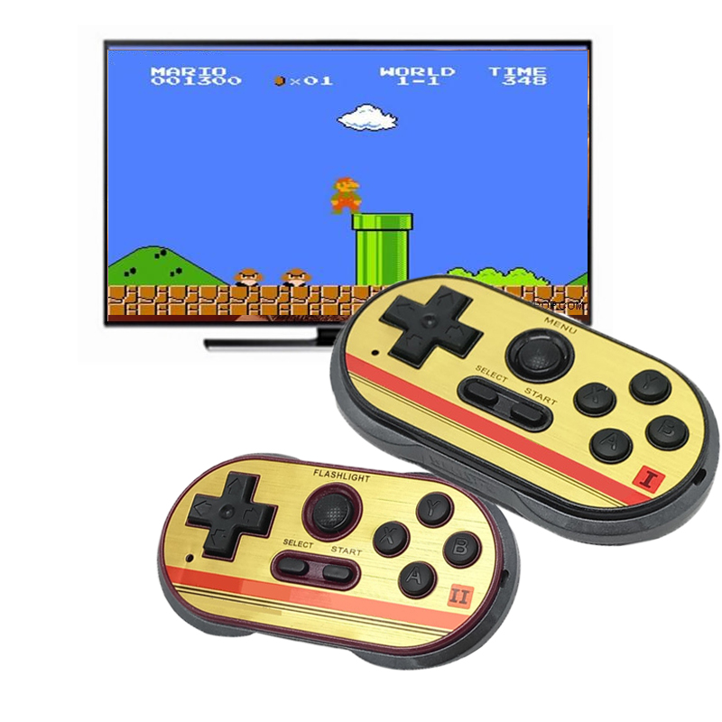 New Mini Video Gaming Console For FC30 Pro Build In 260 Classic Games 8 Bit Handheld Game Players Support TV Output Best gift