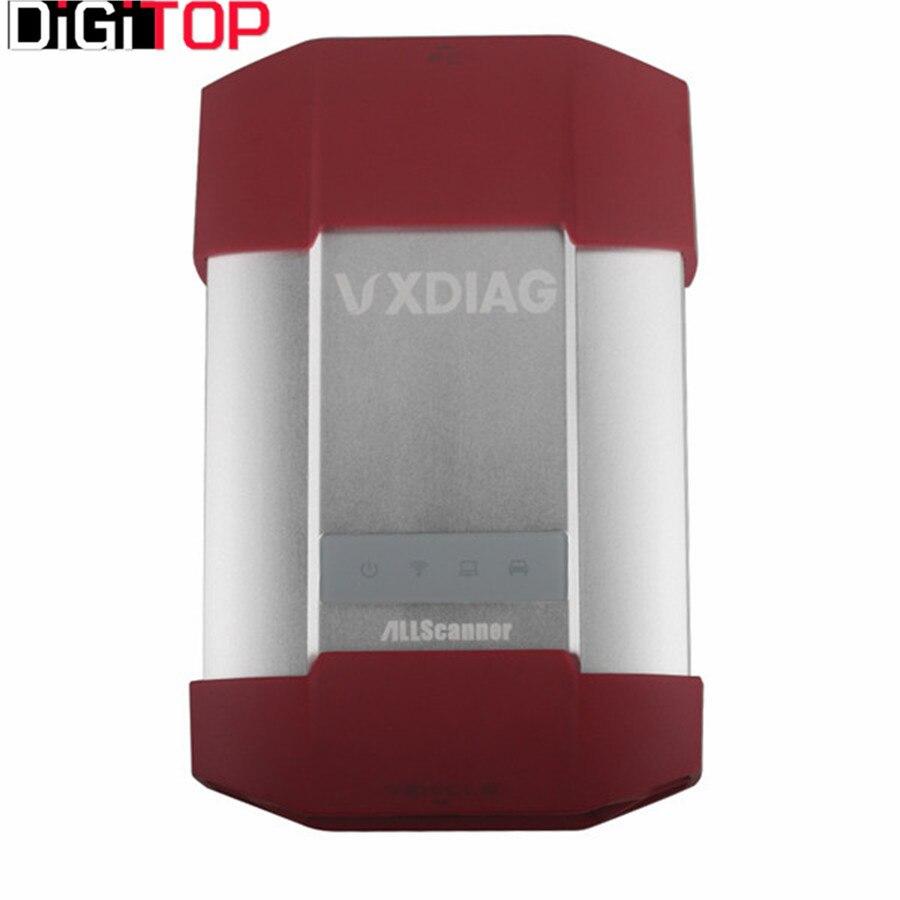 VXDIAG MULTI Diagnostic Tool 4 in 1 for TOTOYA V10.10.018/ for Ford and for Mazda V95.03/ for JLR V141 Wifi Version