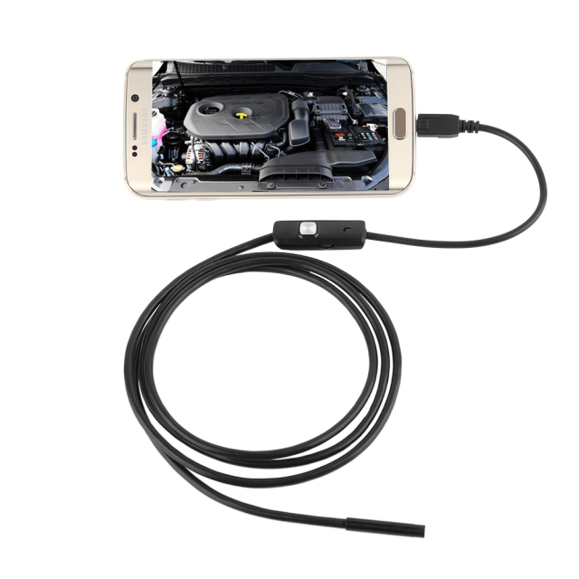 Mini Waterproof Endoscope Compatible Android Smartphone