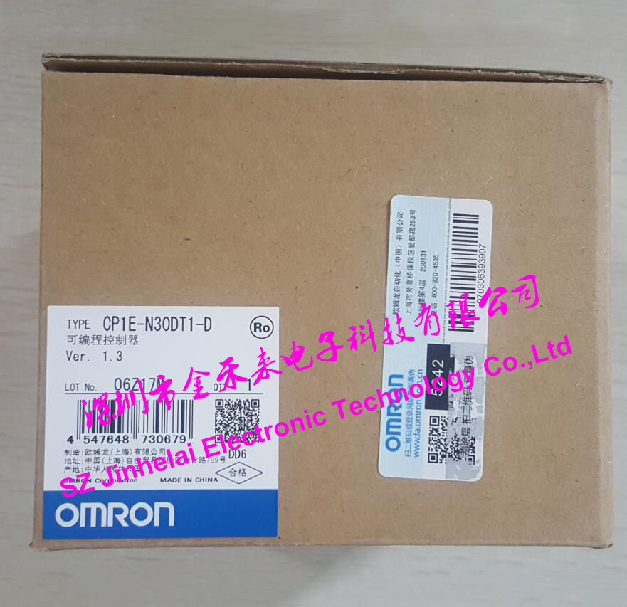 New and original CP1E-N30DT1-D OMRON PLC controllerNew and original CP1E-N30DT1-D OMRON PLC controller