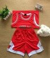 Мода Leisure Suit Детская Одежда Баскетбол С Коротким Рукавом И Шорты В Летний Мальчик Спортивный Костюм Дети Одежда Мальчиков Наборы