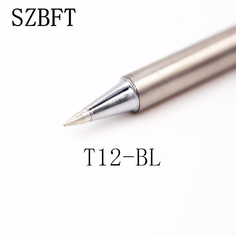 SZBFT T12-BL D4 D08 D12 D16 D24 D32 D52 lituoklio patarimai, kaip - Suvirinimo įranga - Nuotrauka 2