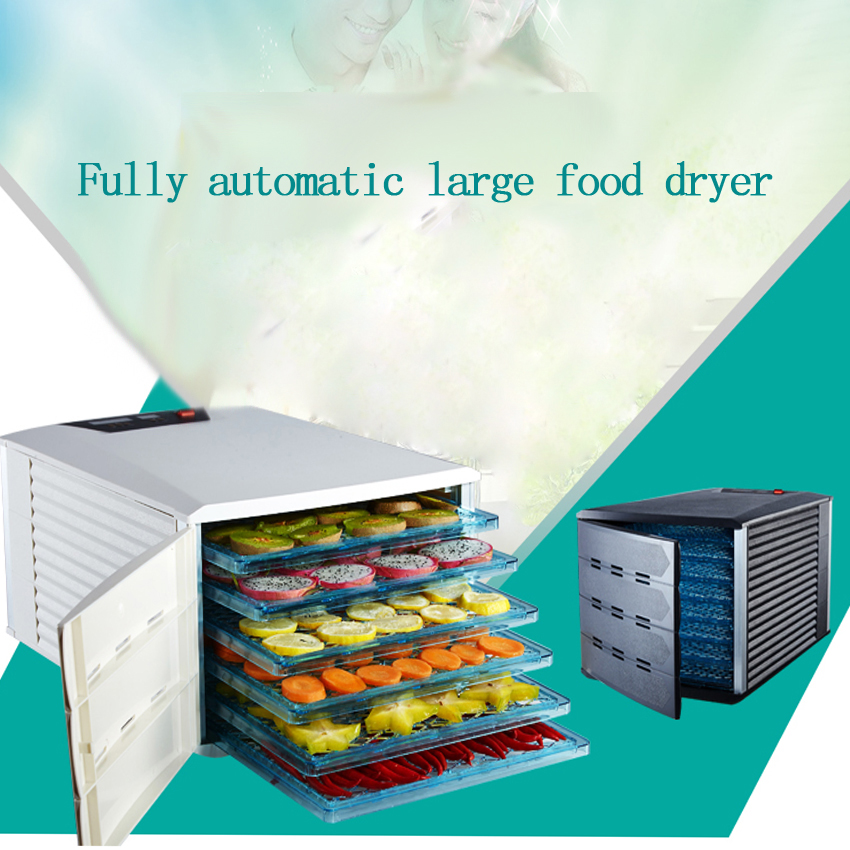 1pcs 6 layer Dry machine food dehydrator Air dry machine, fruit, vegetable, pet meat, food, dryer 1pcs 8 layer fruit dry machine dehydration machine large capacity food drying machine